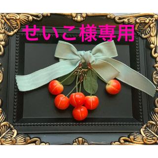 キューポット(Q-pot.)のTommy fell in love with sweets! ブローチ(コサージュ/ブローチ)