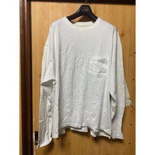ノンネイティブ(nonnative)のYSTRDY'S TMRRW☆BAGGY L/S TEE☆S☆WHITE(Tシャツ/カットソー(七分/長袖))