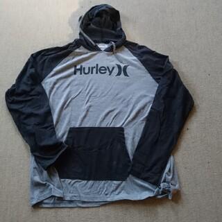 ハーレー(Hurley)の大きいサイズ Hurley 長袖Tシャツパーカー XXL(Tシャツ/カットソー(七分/長袖))