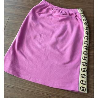 グッチ(Gucci)の美品✨GUCCI キッズ スカート(ひざ丈スカート)