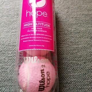 ウィルソン(wilson)の★超希少★新品未開封 ウィルソン硬式ピンクボール 3個入り(ボール)