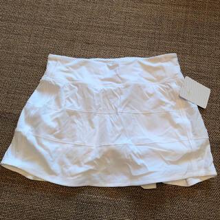 ルルレモン(lululemon)のlululemon pace rival skirt スコート(ランニング/ジョギング)
