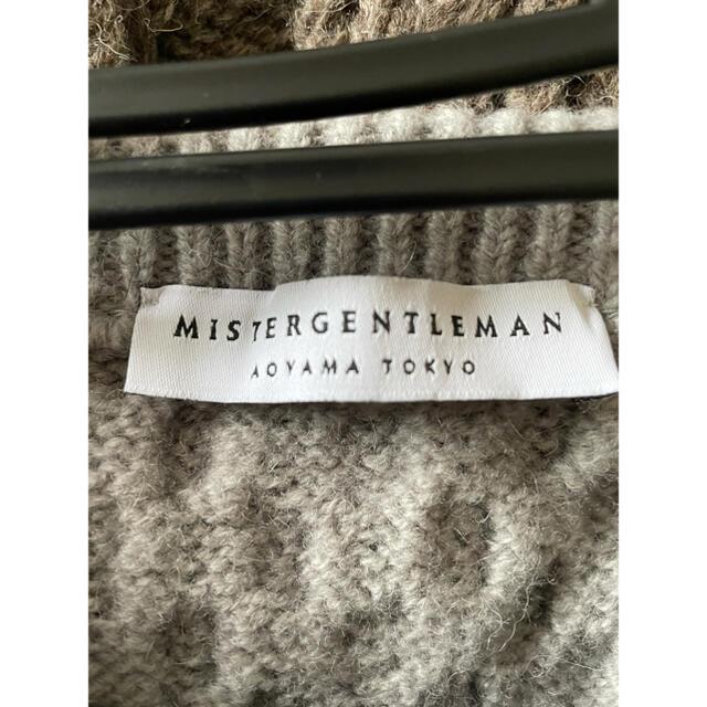 kolor(カラー)のミスタージェントルマン 総柄ニット メンズのトップス(ニット/セーター)の商品写真