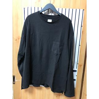 ノンネイティブ(nonnative)のYSTRDY'S TMRRW★BAGGY L/S TEE★S★BLACK★ロンT(Tシャツ/カットソー(七分/長袖))