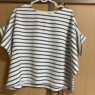 テチチ(Techichi)のボーダートップス(Tシャツ/カットソー(半袖/袖なし))