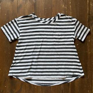 オールドネイビー(Old Navy)の【old navy】110 kids ボーダーTシャツ(Tシャツ/カットソー)