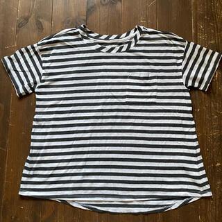 オールドネイビー(Old Navy)の【old navy】ボーダーTシャツ XL(14)(Tシャツ(半袖/袖なし))