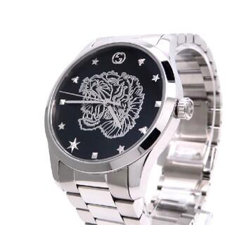 グッチ(Gucci)の【GUCCI】グッチ 時計 'タイガーヘッド' Gタイムレス現行モデル☆極美品☆(腕時計(アナログ))