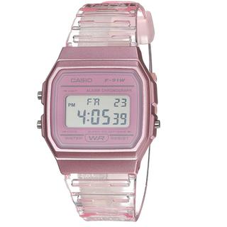 カシオ(CASIO)のカシオ CASIO デジタルクリアウォッチ ピンク チープカシオ チプカシ(腕時計)