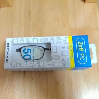 Zoff - 3月30日購入 ほぼ新品 保証書付zoffブルーライト50%グラス