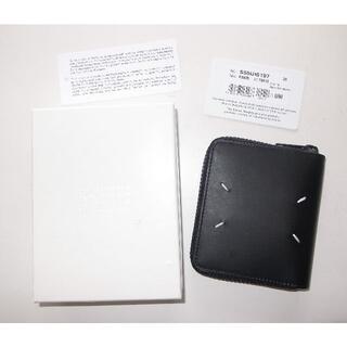 マルタンマルジェラ(Maison Martin Margiela)のマルジェラ 財布 round zip wallet mat black 19aw(折り財布)