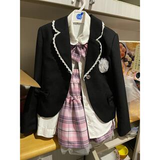 ニシマツヤ(西松屋)の女の子 ブレザー スーツ フォーマル 制服(ドレス/フォーマル)
