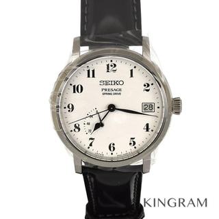 セイコー(SEIKO)のセイコー プレサージュ 琺瑯ダイヤル スプリングドライブ ウォッチサロン限定(腕時計(アナログ))