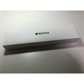 アップルウォッチ(Apple Watch)の【美品】AppleWatch SE GPSモデル40mmスペースグレイ(スマートフォン本体)