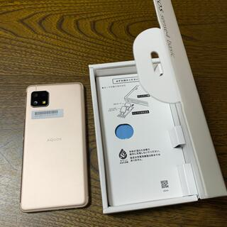 AQUOS - 携帯電話機AQUOSsense4basic SIMロック解除済み
