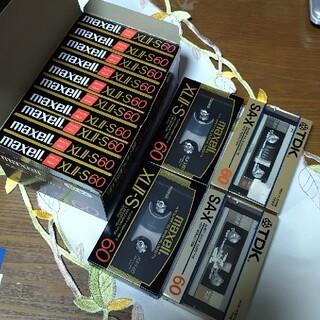 マクセル(maxell)のmaxell XLⅡ-S 60 カセットテープ ハイポジション 新品未使用(その他)