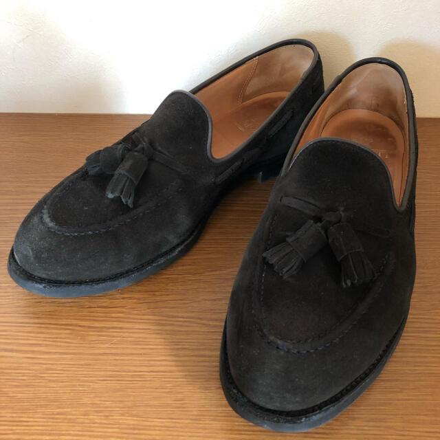 Crockett&Jones(クロケットアンドジョーンズ)のCROCKETT&JONES クロケットアンドジョーンズ タッセルローファー メンズの靴/シューズ(スリッポン/モカシン)の商品写真