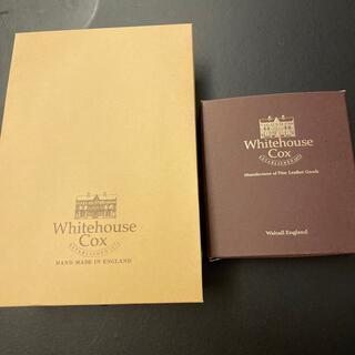 ホワイトハウスコックス(WHITEHOUSE COX)のホワイトハウスコックス 箱(折り財布)