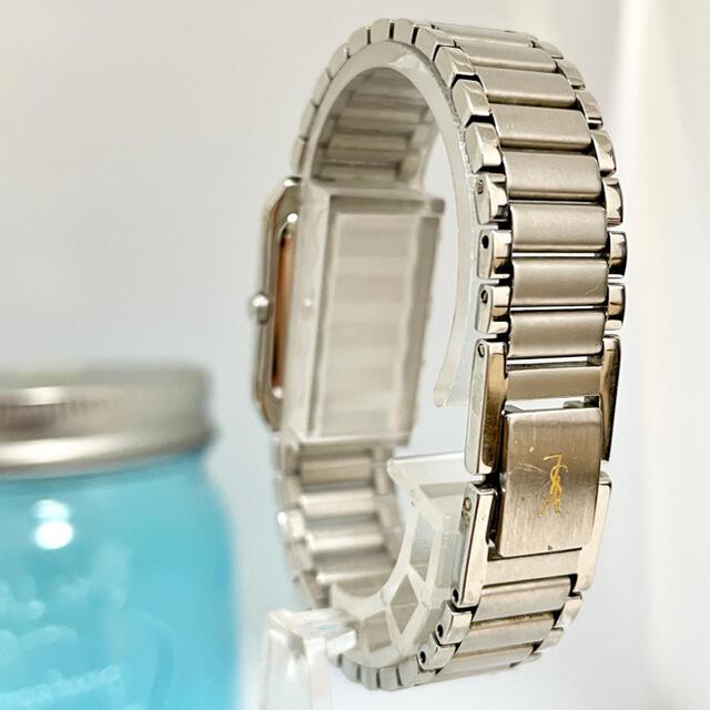 Saint Laurent(サンローラン)の244 イヴサンローラン時計 レディース腕時計 スクエア ブラック 人気 レディースのファッション小物(腕時計)の商品写真