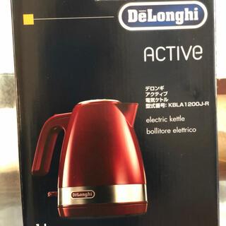 DeLonghi - 新品未使用 デロンギ 電気ケトル