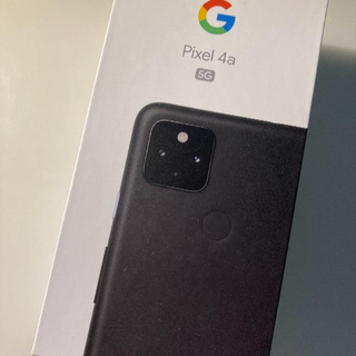 グーグル(Google)の新品 一括購入品 simフリーGooglePixel 4a 5G(スマートフォン本体)