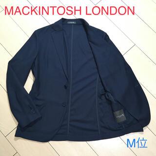 マッキントッシュ(MACKINTOSH)の極美品★マッキントッシュロンドン×上質コットン主◎極上ネイビージャケットA808(テーラードジャケット)
