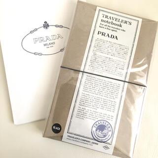 プラダ(PRADA)のPRADA プラダ トラベラーズノート レギュラーサイズ(ノート/メモ帳/ふせん)