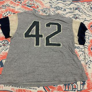 ゴートゥーハリウッド(GO TO HOLLYWOOD)のgotohollywood ナンバリング Tシャツ130 デニム&ダンガリー (Tシャツ/カットソー)