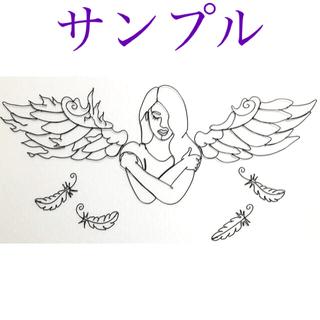 ディズニー(Disney)の壁掛けワイヤーアート  ワイヤークラフト  羽 翼 天使(アート/写真)