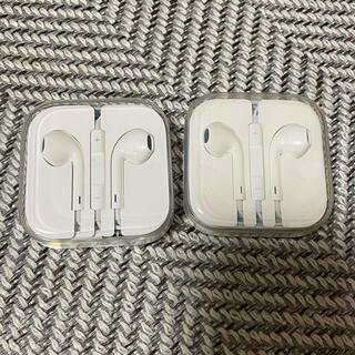 アップル(Apple)のiPhone 付属品 イヤホン 正規品 2つ(ヘッドフォン/イヤフォン)