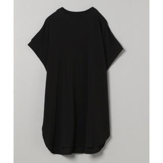 ジーナシス(JEANASIS)のJEANASIS シャロークルーネックラウンドヘムTEE(Tシャツ(半袖/袖なし))