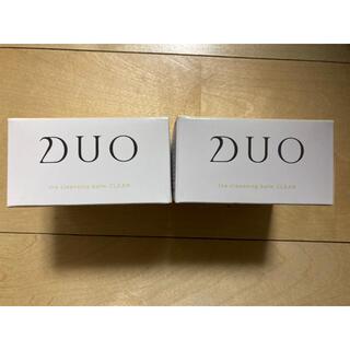 DUO(デュオ) ザ クレンジングバーム クリア(90g) 新品未使用 2個(クレンジング/メイク落とし)