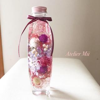 【受注製作】母の日 誕生日 ハーバリウム【33】(その他)