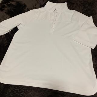 シャルレ(シャルレ)のシャルレ 婦人カットソー ポロシャツLL白(ポロシャツ)