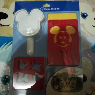 ミッキーマウス(ミッキーマウス)のディズニーリゾート ミッキー おにぎりキット 新品未開封(弁当用品)