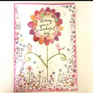 【海外で購入】カード お花 バースデーカード(カード/レター/ラッピング)