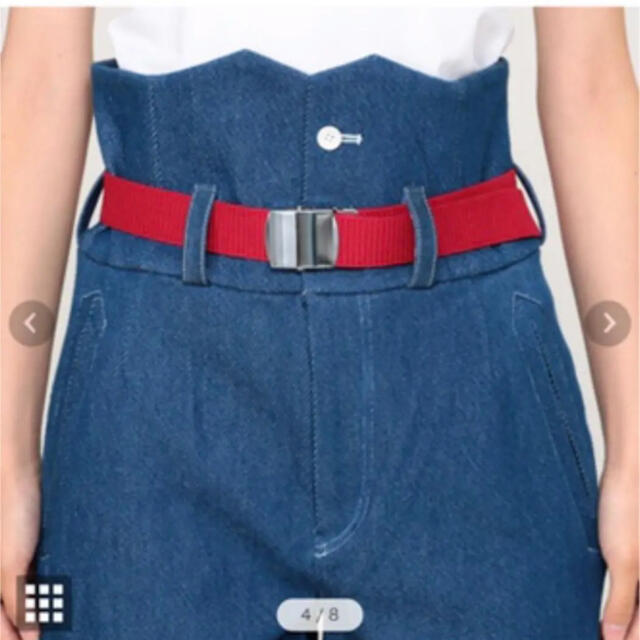 AMBELL  ハイウエストデニムパンツ メンズのパンツ(デニム/ジーンズ)の商品写真