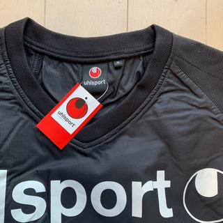 ウールシュポルト(uhlsport)の【新品】M ブラック ウィンドアップ ジャケット ゴールキーパー (ウェア)