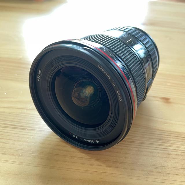 Canon(キヤノン)の2日間限定お値下げします。キャノン EF 16 - 35 f2.8L USM スマホ/家電/カメラのカメラ(レンズ(ズーム))の商品写真