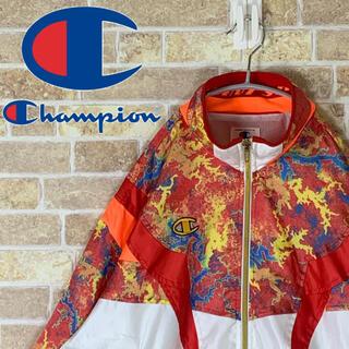 Champion - 送料無料!!チャンピオン 幾何学模様 ゆるだぼ 90s ナイロン ブルゾン 人気