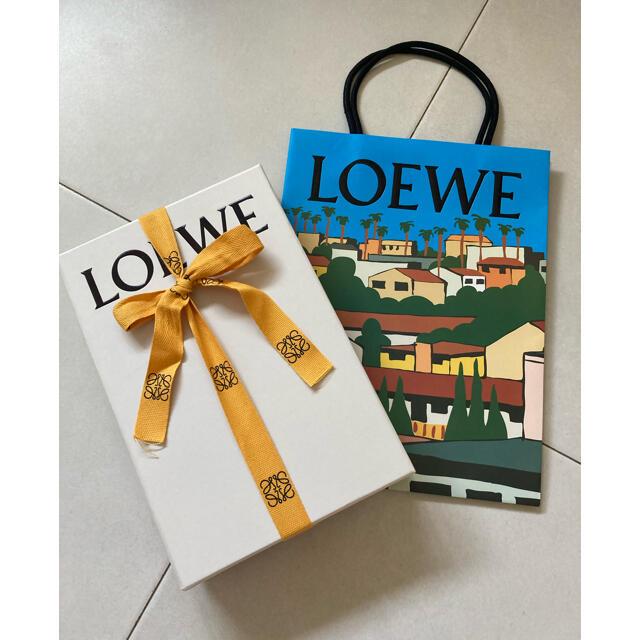 LOEWE(ロエベ)のLOEWE 完売! アナグラム カシミヤ ストール マフラーネイビー レディースのファッション小物(マフラー/ショール)の商品写真