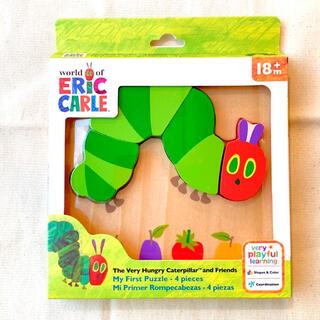 BorneLund - 【新品】はらぺこあおむし 知育玩具 木製パズル 積み木 ブロック エリックカール