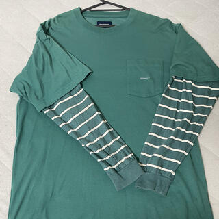 ロンハーマン(Ron Herman)のディセンダント ロンT レイヤード ボーダー(Tシャツ/カットソー(七分/長袖))
