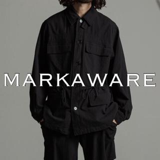 マーカウェア(MARKAWEAR)のMARKAWARE DOBBY MILITARY JACKET 定価5.3万(ミリタリージャケット)