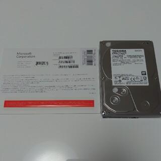 東芝 HDD 2TB Windows10Pro