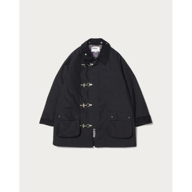 Barbour(バーブァー)のbarbour steven alan ファイアーマンジャケット black メンズのジャケット/アウター(ブルゾン)の商品写真