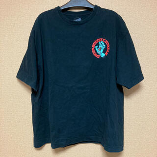 SANTA CRUZ バックプリントTシャツ ビッグシルエット 古着(Tシャツ/カットソー(半袖/袖なし))