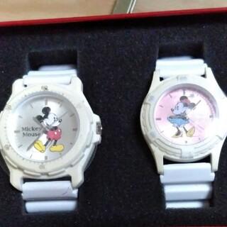 ディズニー(Disney)のSEGAセガ Disney ミッキー、ミニーマウス ペア腕時計(腕時計(アナログ))