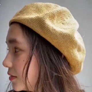 センスオブプレイスバイアーバンリサーチ(SENSE OF PLACE by URBAN RESEARCH)のベレー帽(ハンチング/ベレー帽)