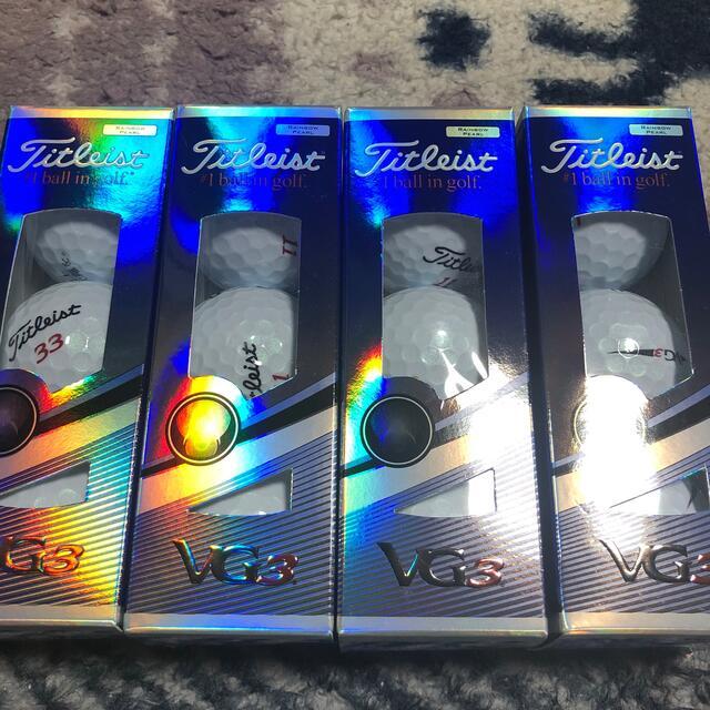 Titleist(タイトリスト)のタイトリスト VG3 ゴルフボール チケットのスポーツ(ゴルフ)の商品写真
